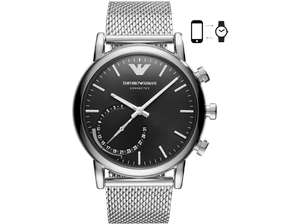 EMPORIO ARMANI Connected, Smartwatch, Edelstahl [SATURN]