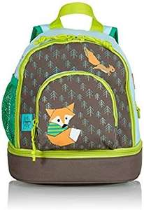 Lässig Mini Backpack Kinderrucksack Kindergartentasche, Brotdosenfach unten, Little Tree Fox [Amazon Prime]