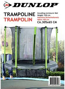 dunlop trampolin 1 82 xxxl lutz. Black Bedroom Furniture Sets. Home Design Ideas