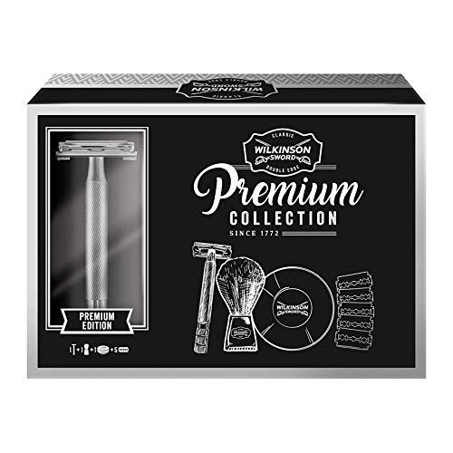 Wilkinson Sword Classic Geschenk Set Premium Vintage Edition mit 5 Klingen