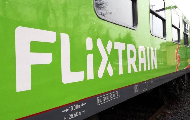 Flixtrain Tickets für 2,19€!