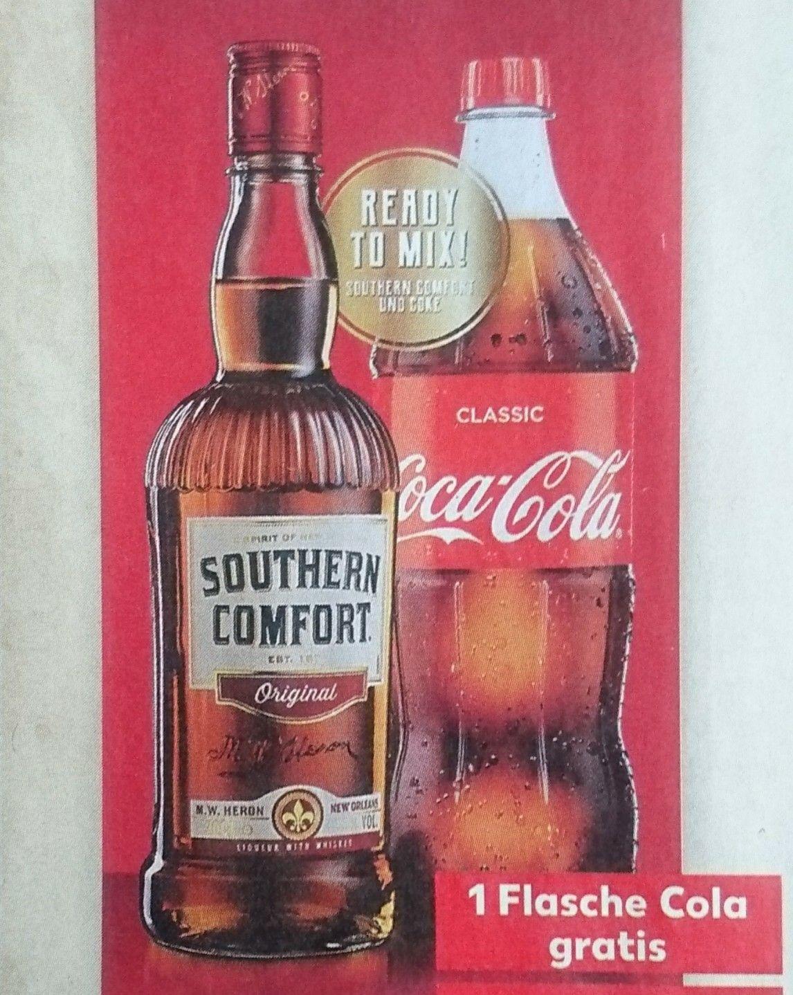 Southern Comfort 0,7l für 9,99€ im Kaufland - Flasche Cola gratis (evtl. lokal)