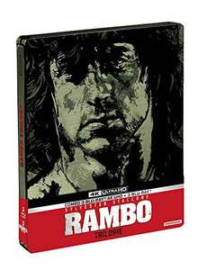 Rambo Trilogy (Teil 1-3) 4K (Limited Steelbook Edition) (4K UHD + Blu-ray) Blu-ray inkl.Vsk für 45,39 € > [amazon.fr]