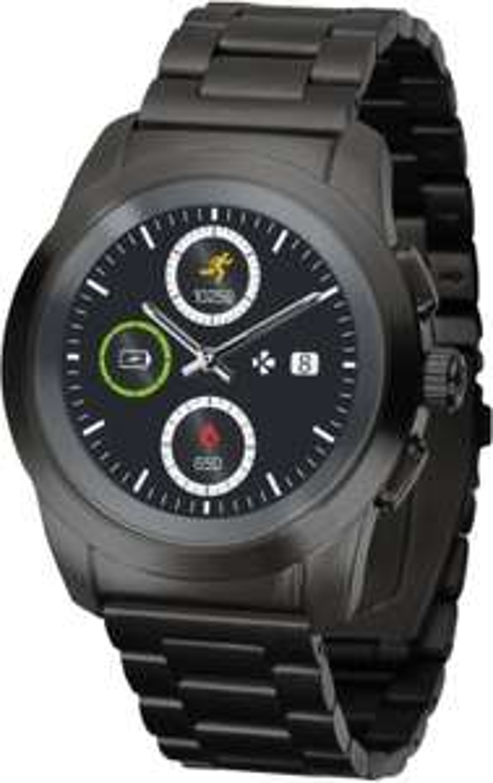 MyKronoz ZeTime Elite Brushed Hybrid Smartwatch (MediaMarkt u. Amazon)