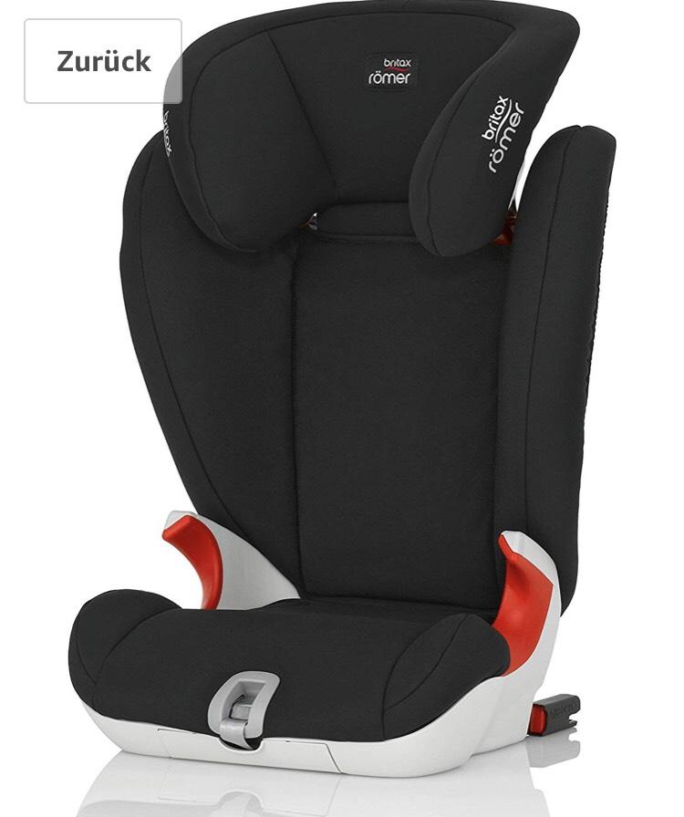 (Amazon UK) Britax Römer Autositz KIDFIX SL, Gruppe 2/3 (15-36 kg), isofix inkl Versand 87,21€