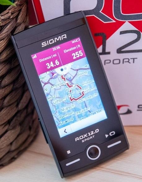 Sigma Rox 12.0 Sport GPS Fahrrad-Navi - Basic für 302,95€ und HR&CAD für 362,95€ [bike-components]