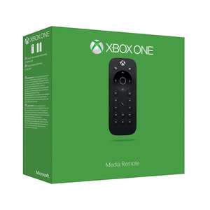 Fernbedienung Media Remote, schwarz, Microsoft - XBOX One