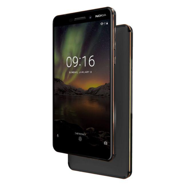 Nokia 6 64/4GB - Snapdragon 630 - Type C - 16MP/8MP - Mit Band 20 - Aus Deutschland