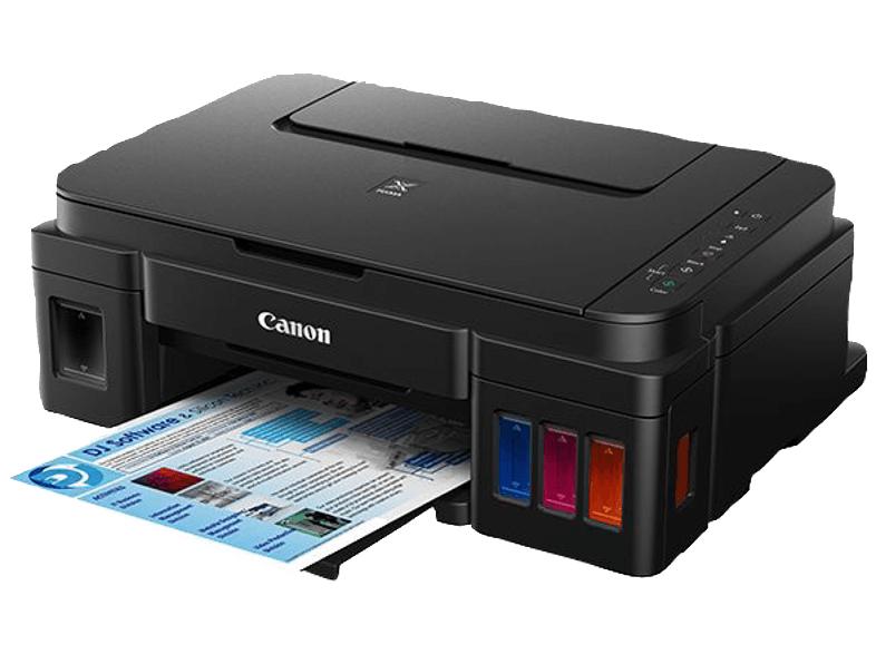 CANON Pixma G3501 2 FINE Druckköpfe mit Tinte (Schwarz und Farbe), Nachfüllbare Tintenbehälter, Tintenstrahldrucker WLAN