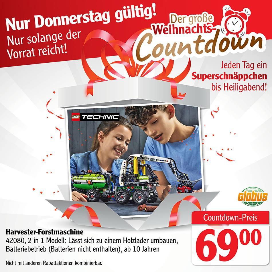 Lego Technic 42080 Harvester - nur am 13.12.18 und nur bei Globus
