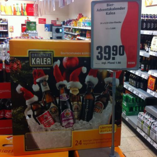 [REWE Regional?] Kalea Bier Adventskalender 24x0,33
