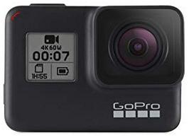 GOPRO HERO 7 Black inkl Dual Ladegerät, Zusatzakku und 32GB SD Karte (Saturn)