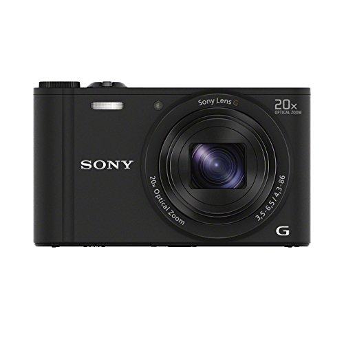 [Amazon oder Saturn] Sony DSC-WX350 Digitalkamera (18 Megapixel, 20-fach opt. Zoom, 7,5 cm (3 Zoll) LCD-Display, NFC, WiFi) 3 Farben