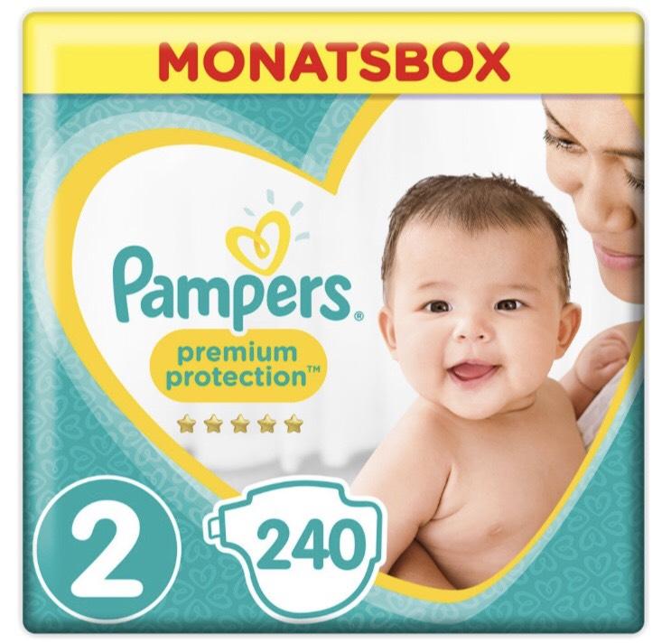 Pampers Premium Protection Monatsboxen mit 20% Rabatt