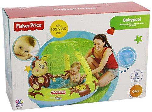 Happy People 16202 - Fisher Price, Baby Pool, 102 x 20 cm  (Prime)