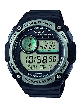 Digitaluhr Casio CPA-100-1AVEF, 7-Jahre eine Batterie, 10 bar Wasserdichtigkeit für 24,99 Euro [Globus]
