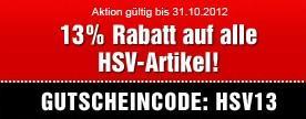 13% im Bild - HSV-FanShop