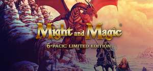 Nostalgie pur! Might and Magic® 6-pack Limited Edition Teil 1-6 [GOG]
