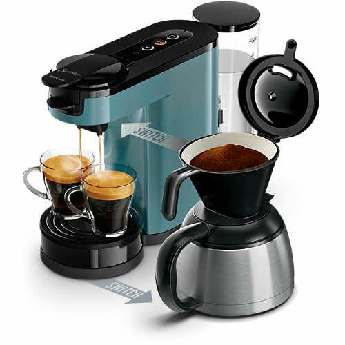 [Penny Online & Lokal] PHILIPS Senseo Switch 2-in-1-Kaffeemaschine HD6591/40