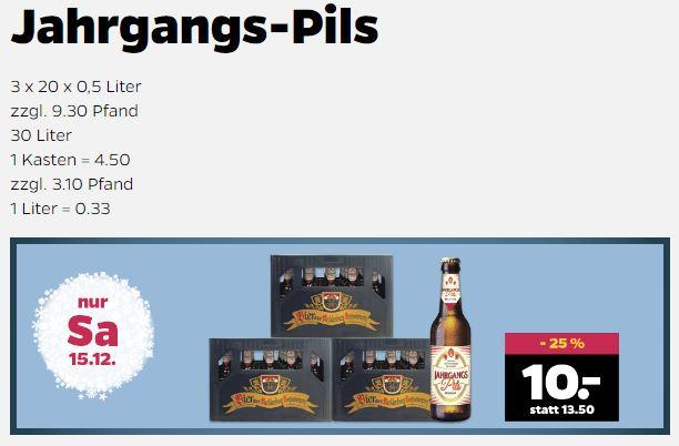 30 Liter Bier Für 10 Im Netto Mit Hund Nur Am Samstag 15122018