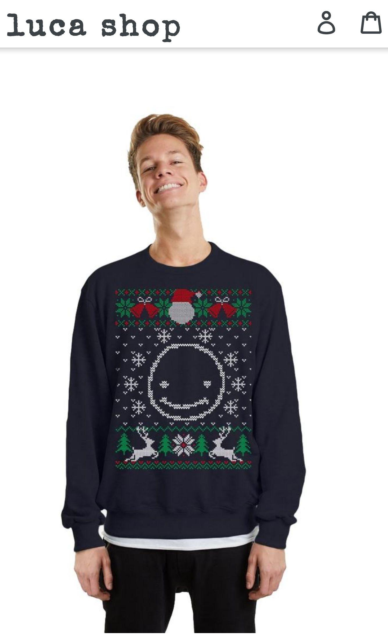 Neuer Smiley Christmas Sweater von Luca reduziert!