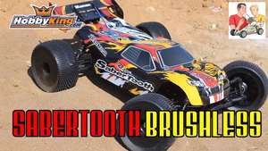 Hobbyking Basher Sabertooth 1:8 Truggy (ARR) aus UK