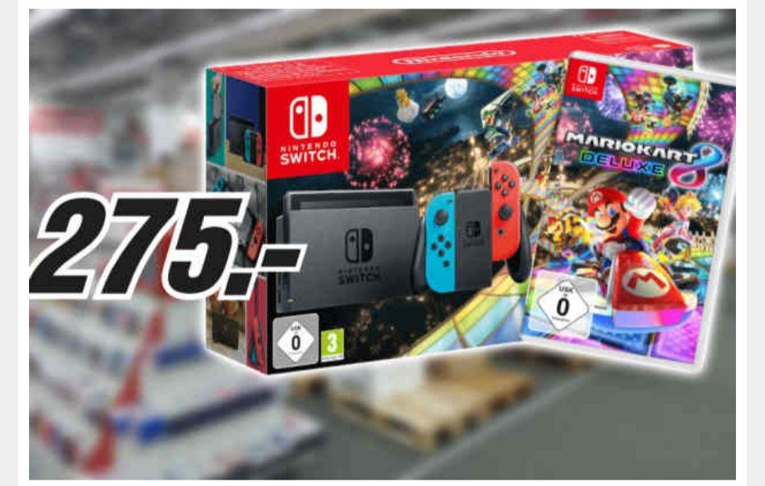 Nintendo Switch + Mario Kart 8 Deluxe für 275€[Lokal Media Markt Wiesbaden]