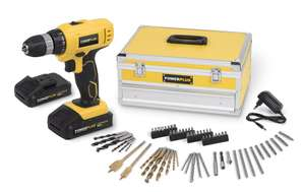 Werkzeug bei real, z.B. Varo Powerplus Akku-Bohrschrauber mit Zubehör-Set für 54,95€ oder Atrox Werkzeugkasten 88-tlg für 49,95€