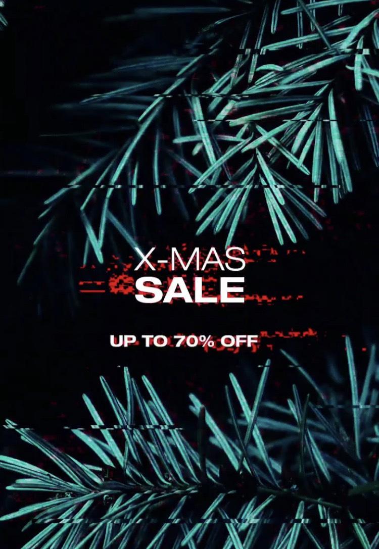 Solebox X-Mas Sale bis zu 70% // Auf Nike, Adidas, Puma und vieles mehr