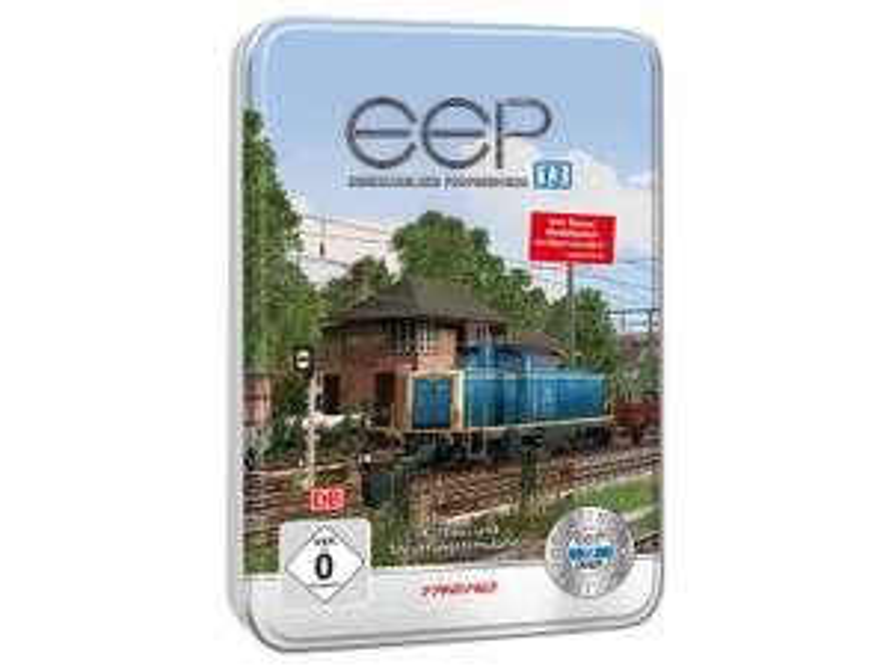 [PEARL] EEP Eisenbahn.exe 13 Platinum in einer Metallbox