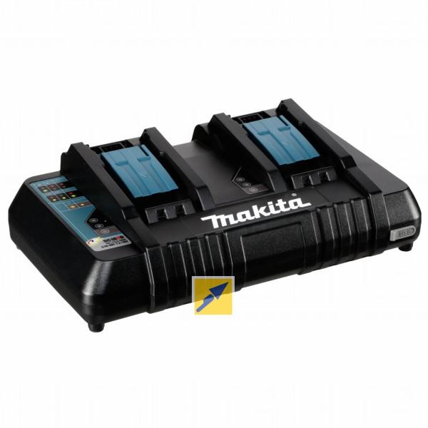 Makita Doppel-Schnellladegerät DC18RD für 41,29€ mit paydirekt [technikdirekt]