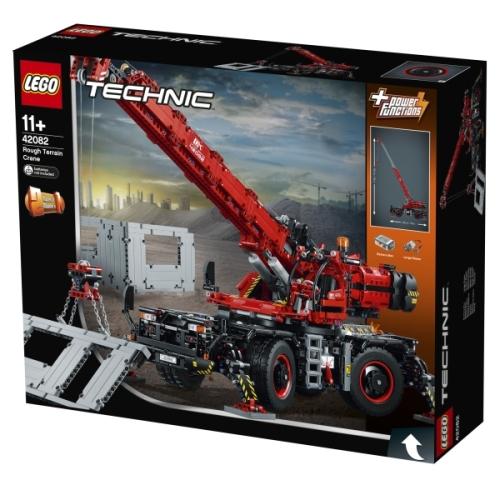 Lego Technik 42082 Geländegängiger Kranwagen