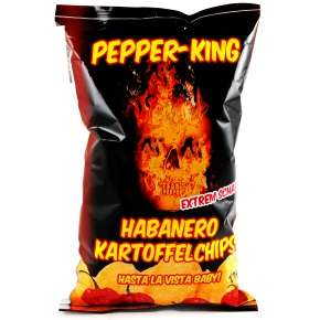 Pepper King Habanero Kessel Chips *extrem scharf* Thomas Philipps Dinslaken
