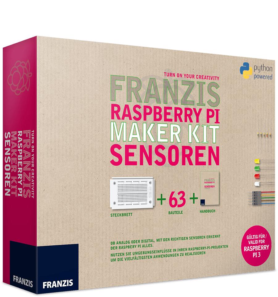 Franzis Raspberry Pi Maker Kit Sensoren