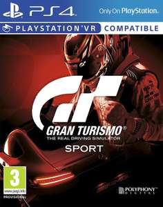 Gran Turismo Sport (PS4) für 13,80€ (Amazon IT)