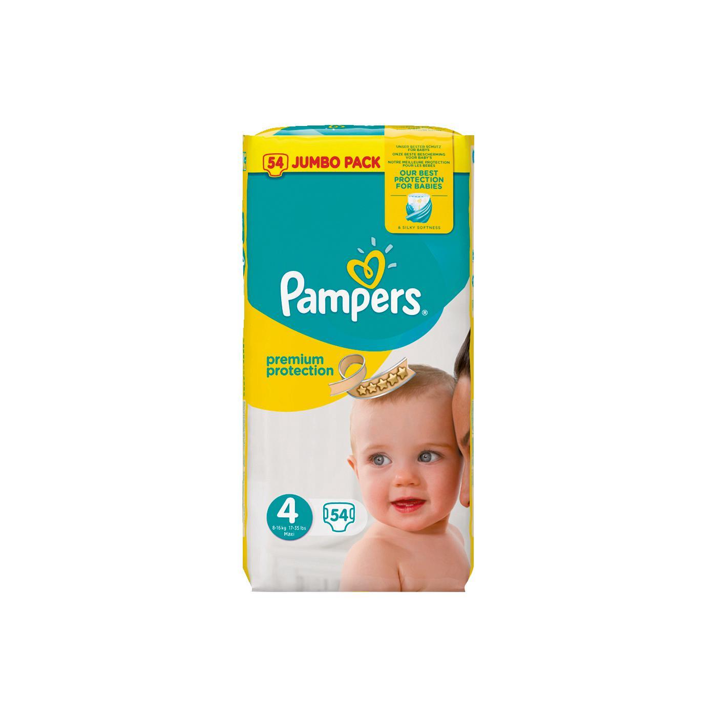 [Rossmann] Pampers Premium Protection - 2 Jumbo Packs mit 6€ Rabatt (23 Cent/Windel)