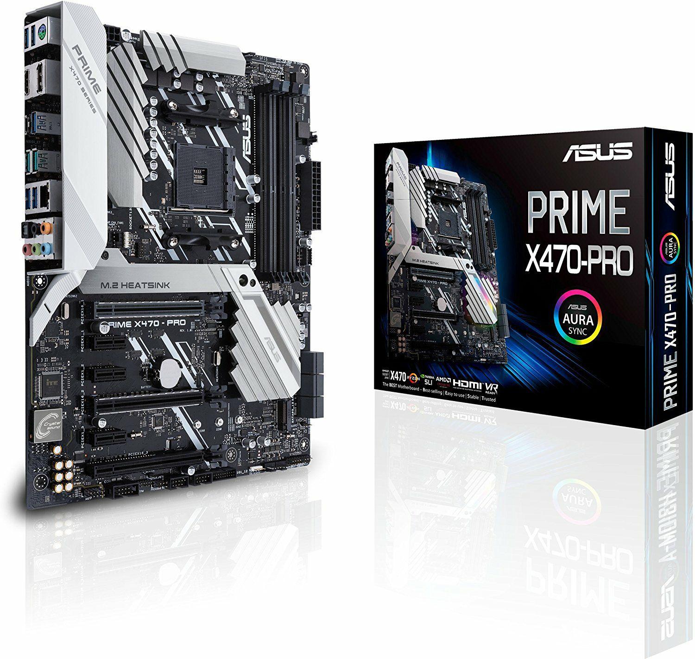 Asus Prime X470-Pro Mainboard- ATX, Sockel AM4 (Amazon.es)