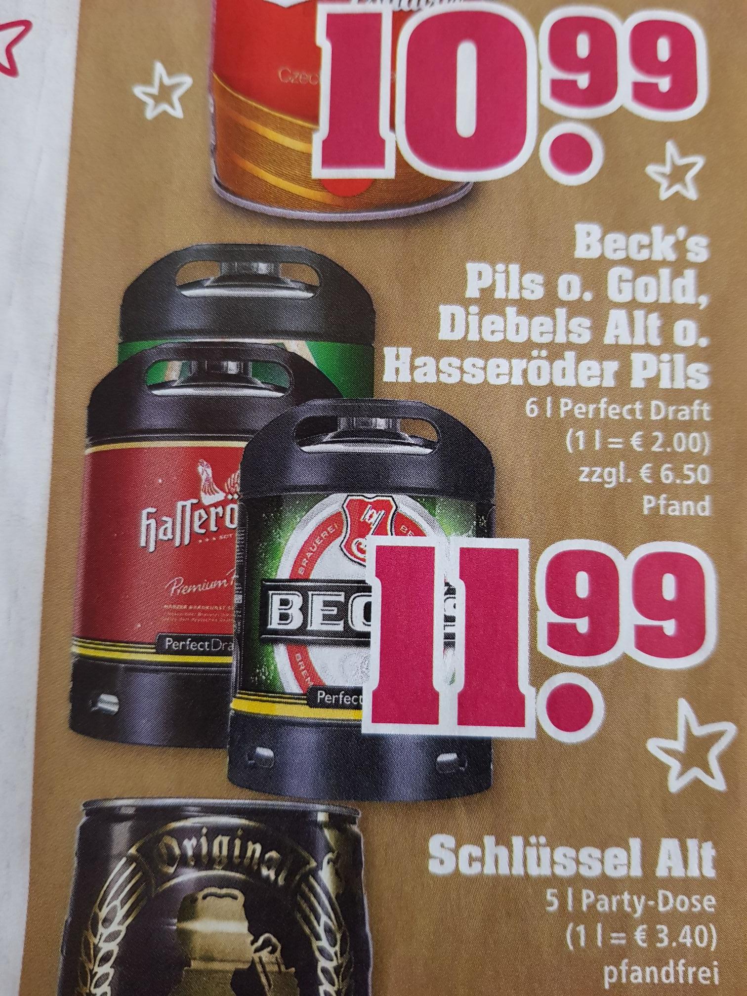 PerfectDraft Bier bei Trinkgut für €11,99 pro 6l Fass