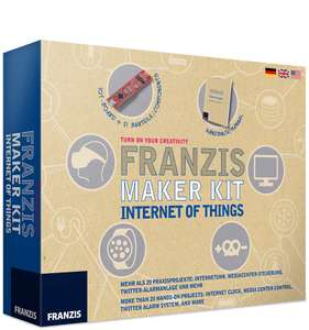 Franzis Maker Kit - Internet of Things Lernpaket inkl. IoT Board