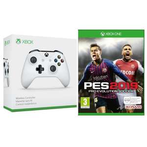 PES 2019 + Xbox Wireless Controller für 59,99€ (Cdiscount)