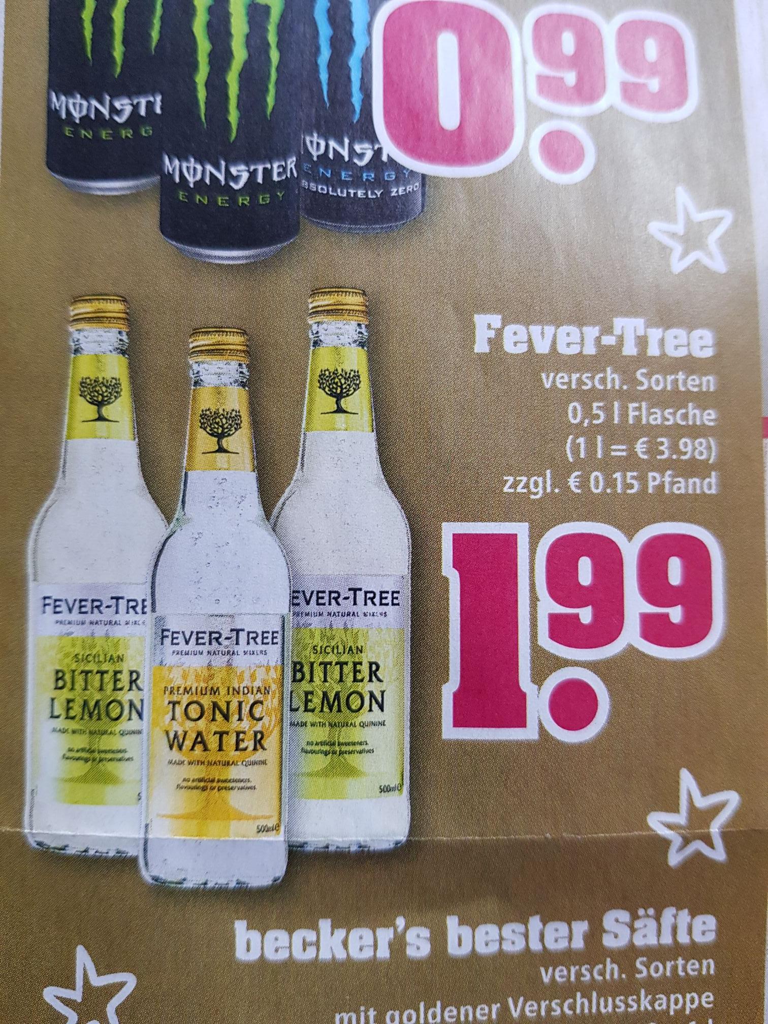 Fever-Tree 0,5l Tonic Water und andere Sorten bei Trinkgut für €1,99