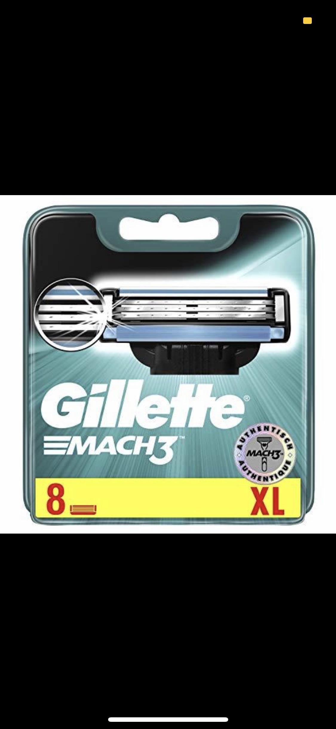 Gillette Mach3 Klingen 8 Stk. für 12,99
