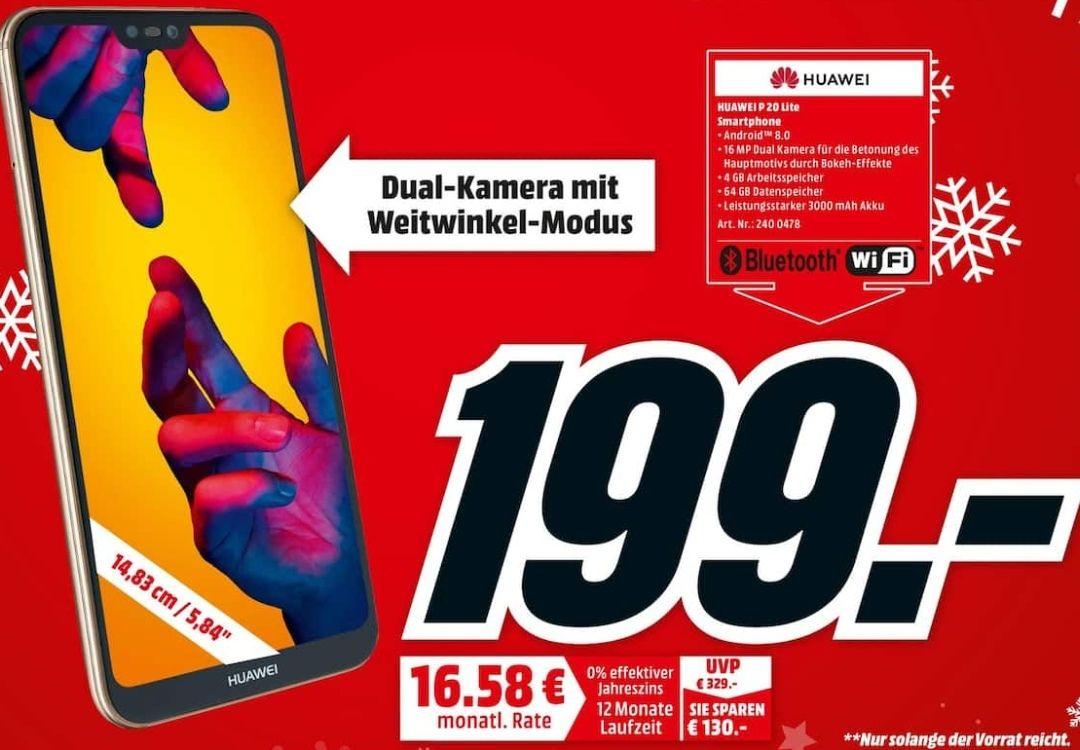 Huawei P20 lite für 199€ - Lokal Papenburg