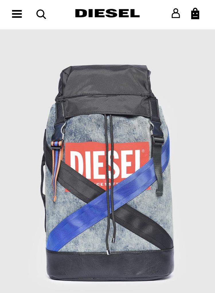 Diesel.de einige schöne Sachen reduziert (Rucksack M-XX Back)