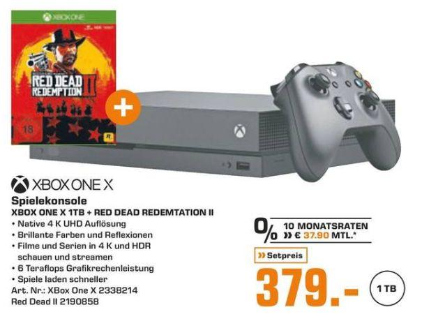 [Regional Saturn Freiburg/Müllheim] Xbox One X +Red Dead Redemption 2 für 379,-€ // Nintendo Switch+ Super Smash Bros. Ultimate  für 299,-€