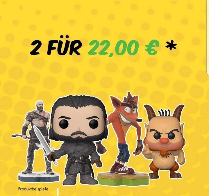 2 TOTAKU oder FUNKO Figuren für nur 22 EUR!