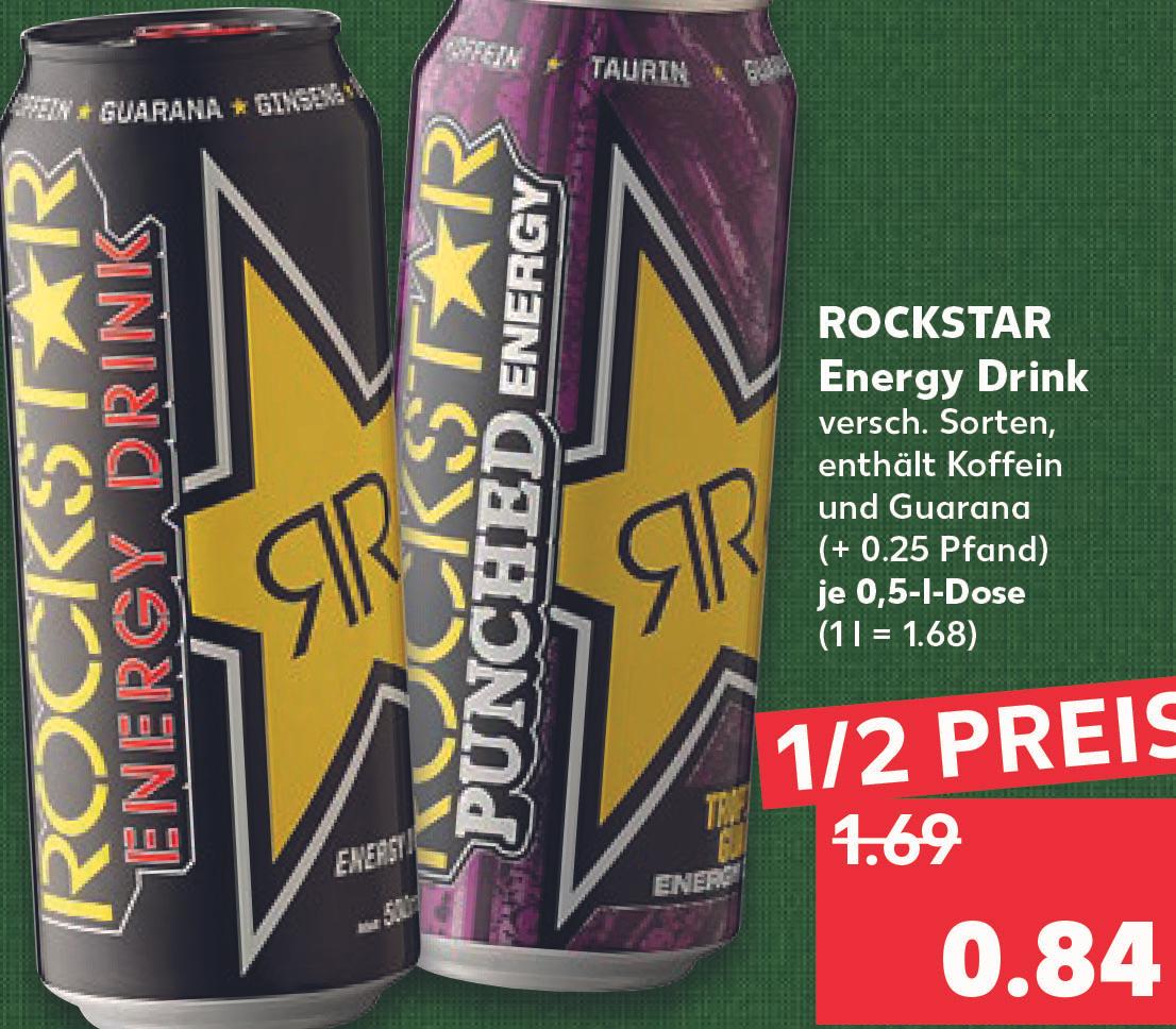 Rockstar Energy verschiedene Sorten 0,85€ [Kaufland]
