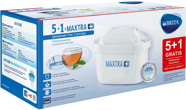 BRITA Maxtra+ Filterkartusche 5+1 Pack für 17,99€ (Müller)