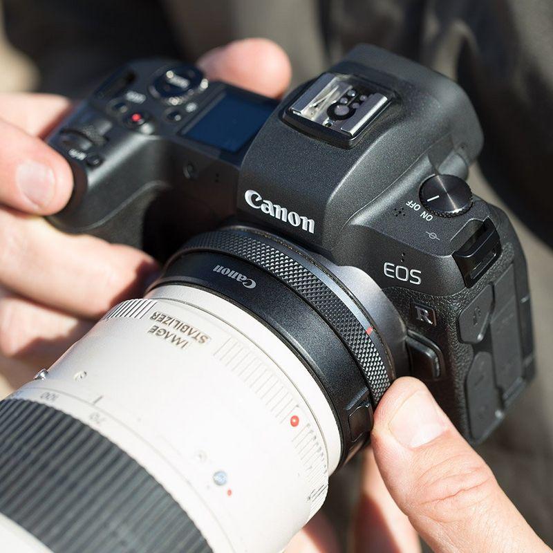 Canon CPS Mitglieder mit EOS R: 200€ Cashback auf Bajonettadapter EF-EOS R mit Objektiv Steuerring (VK ~207€)