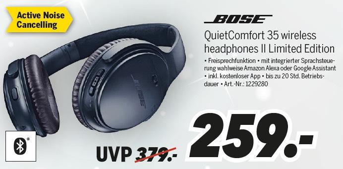 [lokal Oranienburg Mediamax] Bose QuietComfort 35 II Limited Edition